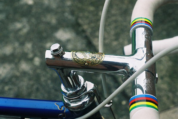 Cinelli chrome stem & bar